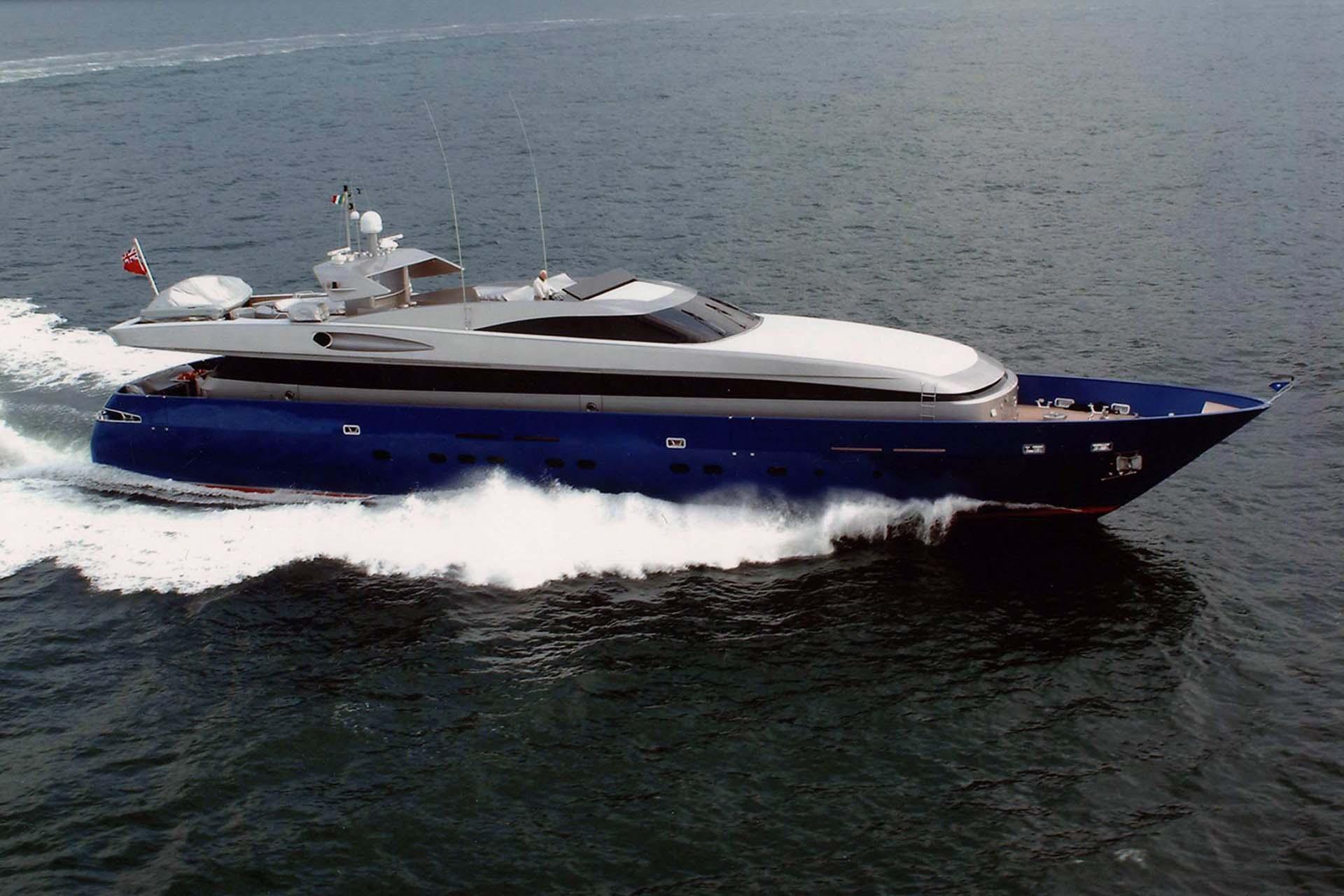 baglietto - BELLISSIMA - Paskowsky Yacht Design
