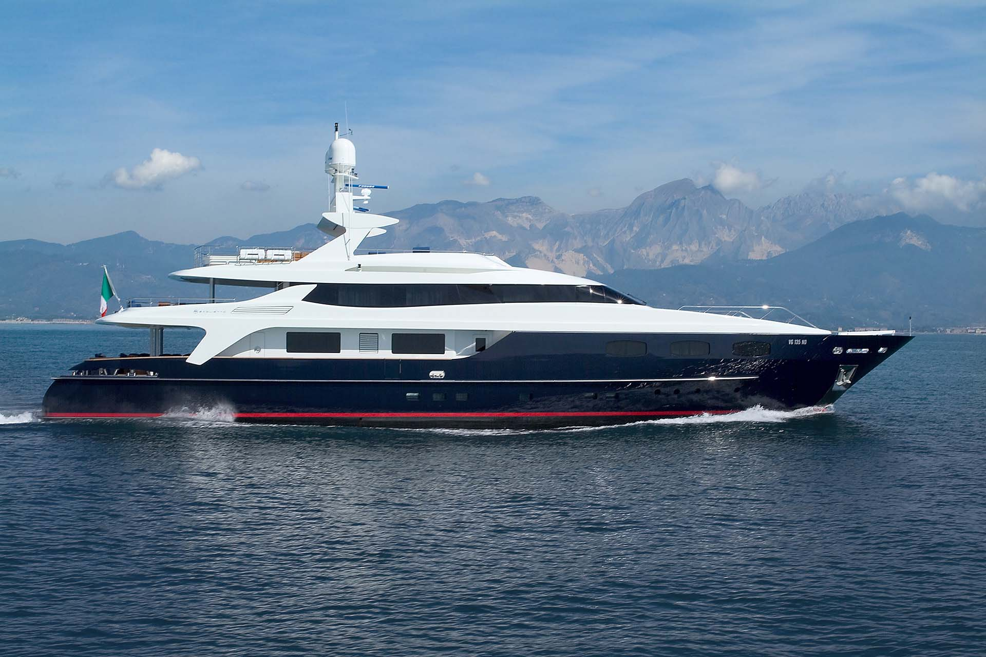 baglietto - BLUE EYES - Paskowsky Yacht Design