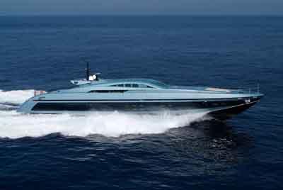 baglietto - BLUE PRINCESS - Paskowsky Yacht Design