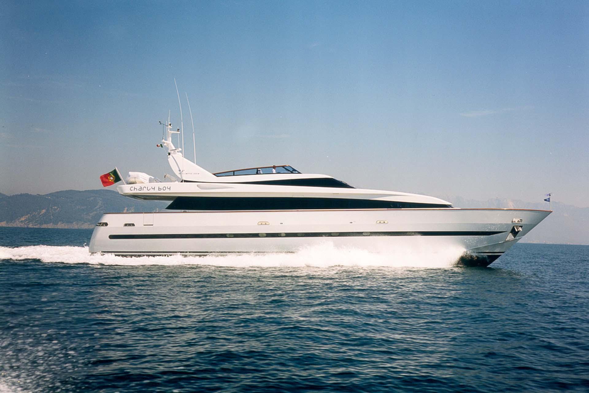 baglietto - CHARLIE BOY - Paskowsky Yacht Design