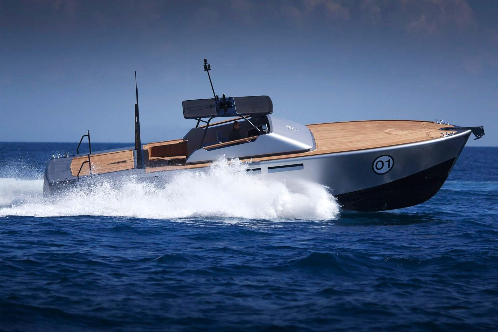 baglietto - MV 13 - Paskowsky Yacht Design
