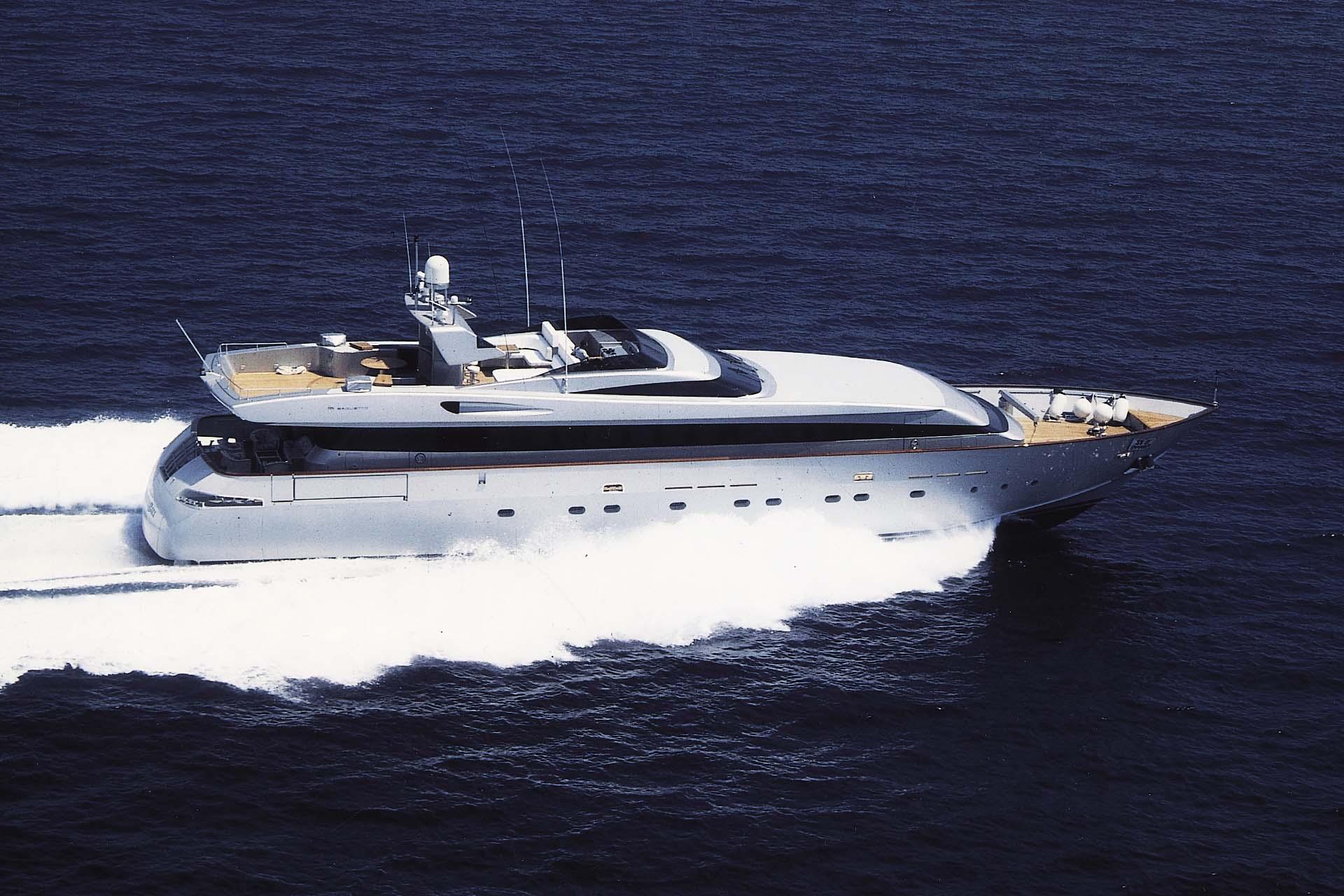 baglietto - THUNDERBALL - Paskowsky Yacht Design