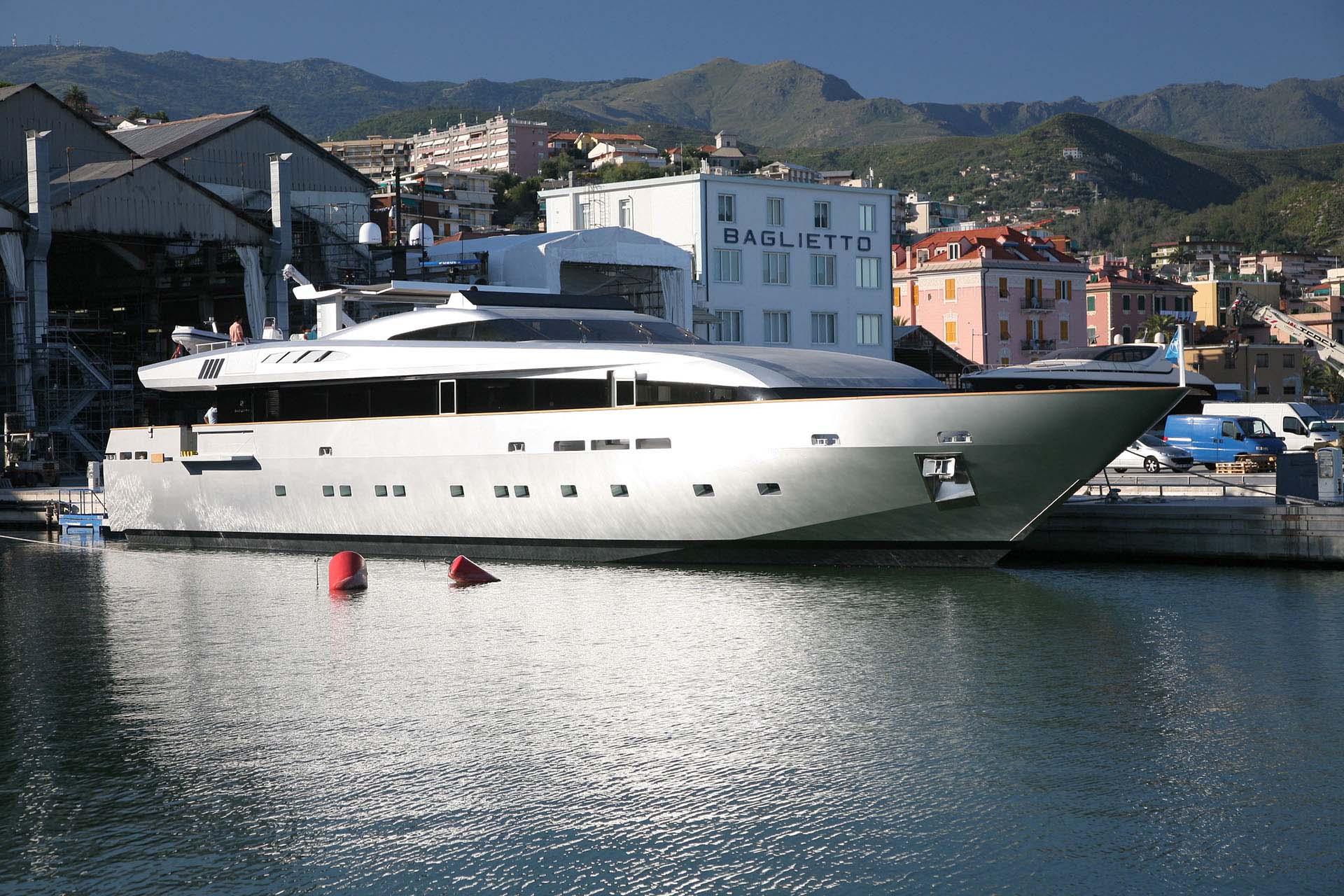 baglietto - TIN TIN - Paskowsky Yacht Design