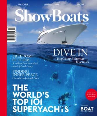 Suerte ShowBoats Feb 2016 - Paskowsky Yacht Design